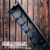 Для дома и интерьера handmade. Livemaster - original item Hanger in the hallway black buy. Handmade.