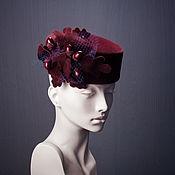 Аксессуары ручной работы. Ярмарка Мастеров - ручная работа Фетровая шляпка Oak. Handmade.