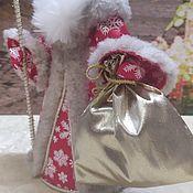 Народная кукла ручной работы. Ярмарка Мастеров - ручная работа Народная кукла: Дедушка Мороз. Handmade.
