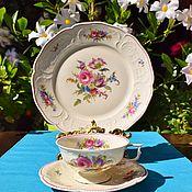Винтаж handmade. Livemaster - original item Rosenthal. U. S. Zone (1945-1949) Tea trio