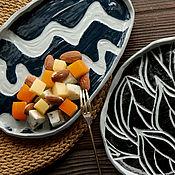 Посуда handmade. Livemaster - original item Plates handmade. High-temperature. Carved. decorative. Handmade.