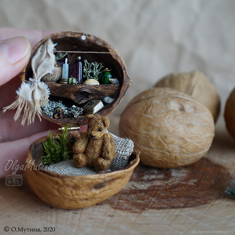 Домик в орешке для мишки, Кукольные домики, Чебоксары,  Фото №1