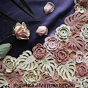 """Одежда ручной работы. Ярмарка Мастеров - ручная работа Кофточка ирландское кружево""""Кремовые розы"""".. Handmade."""