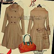 Одежда handmade. Livemaster - original item Dress wool retro
