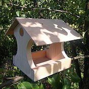 """Для домашних животных, ручной работы. Ярмарка Мастеров - ручная работа Кормушка для птиц """"Парковая-ЭКО"""". Handmade."""