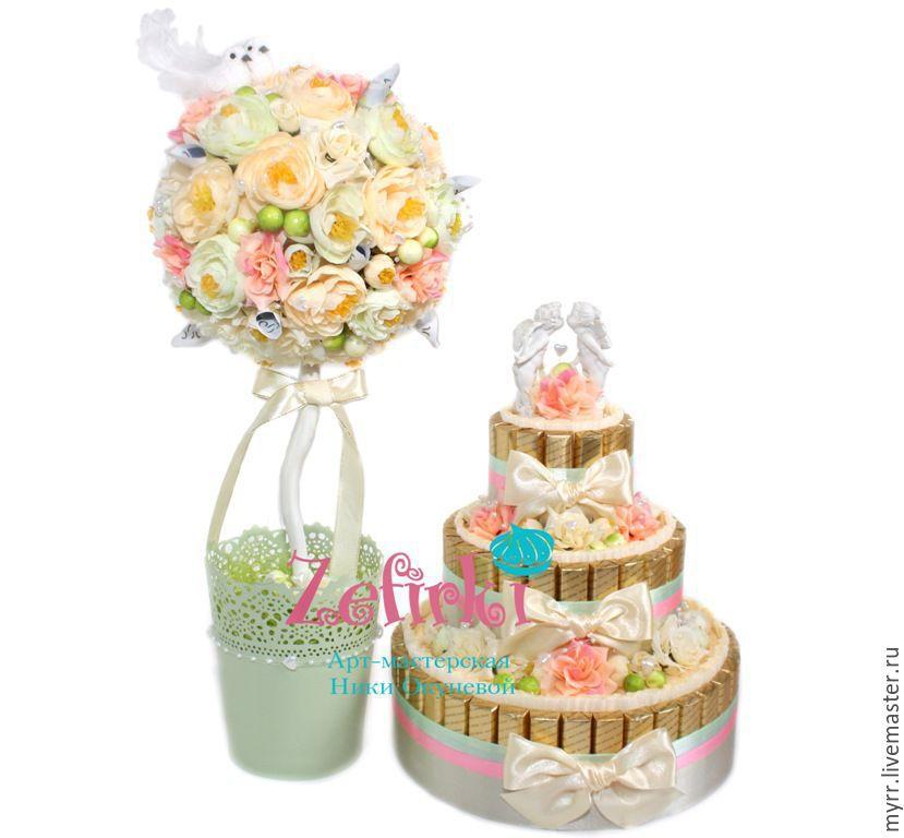 Подарок на свадьбу оригинальный торт