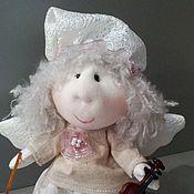 Куклы и пупсы ручной работы. Ярмарка Мастеров - ручная работа Ангел со скрипкой. Handmade.
