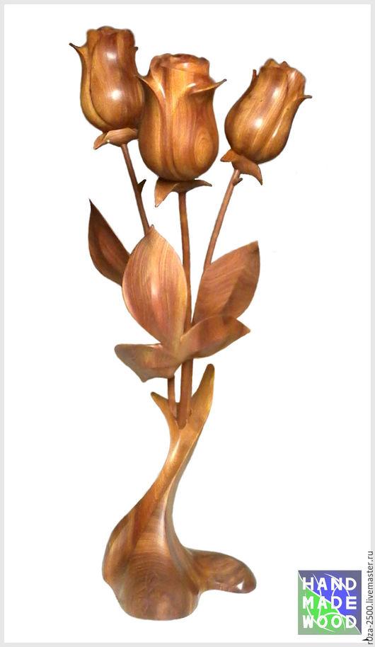 Букеты ручной работы. Ярмарка Мастеров - ручная работа. Купить букет роз. Handmade. Роза ручной работы, можжевельник, эксклюзив