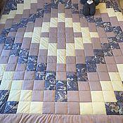 Для дома и интерьера ручной работы. Ярмарка Мастеров - ручная работа Одеяло/покрывало в стиле пэчворк. Handmade.
