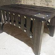 """Столы ручной работы. Ярмарка Мастеров - ручная работа Журнальный стол """"Bridge"""". Handmade."""
