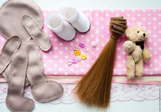 Куклы и игрушки ручной работы. Ярмарка Мастеров - ручная работа. Купить набор для изготовления куклы. Handmade. Желтый, кукла в подарок