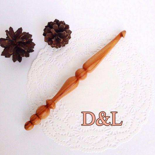Вязание ручной работы. Ярмарка Мастеров - ручная работа. Купить Крючок для вязания ручной работы номер 8. Handmade. Крючком
