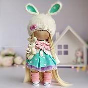 Тильда Зверята ручной работы. Ярмарка Мастеров - ручная работа Кукла ручной работы кукла в подарок текстильная тильда интерьерная. Handmade.