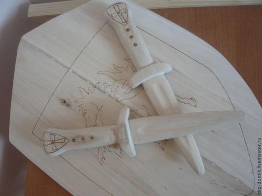 Развивающие игрушки ручной работы. Ярмарка Мастеров - ручная работа. Купить Деревянный кинжал. Handmade. Бежевый, игрушки ручной работы