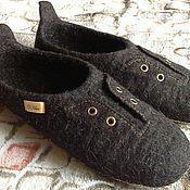 """Обувь ручной работы. Ярмарка Мастеров - ручная работа """"45-тый растоптатый""""....  Большие размеры на заказ.. Handmade."""