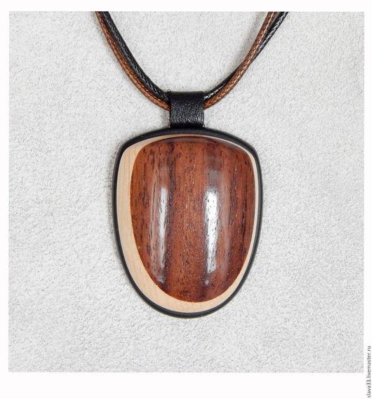 Кулоны, подвески ручной работы. Ярмарка Мастеров - ручная работа. Купить Кулон из дерева.. Handmade. Комбинированный, подвеска, кулон из дерева