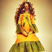 Куклы и игрушки ручной работы. Ярмарка Мастеров - ручная работа Беременная кукла Тильда. Handmade.
