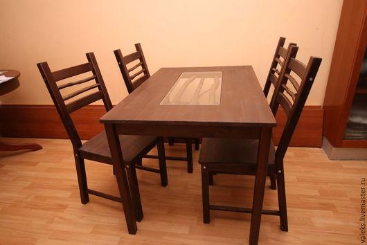 Мебель ручной работы. Ярмарка Мастеров - ручная работа. Купить Обеденный стол. Handmade. Эко стиль, коряги