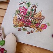 """Для дома и интерьера ручной работы. Ярмарка Мастеров - ручная работа Набор """"Шоколадное кантри"""". Handmade."""