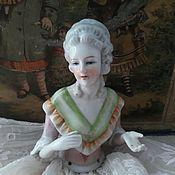 Материалы для творчества ручной работы. Ярмарка Мастеров - ручная работа Фарфоровая куколка Half doll. Handmade.