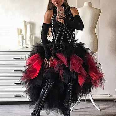 Одежда ручной работы. Ярмарка Мастеров - ручная работа Костюм Ведьма трайбл-байк-стиле на Хэллоуин. Handmade.