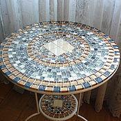 Для дома и интерьера handmade. Livemaster - original item Table with mosaic pridivanny
