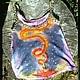 змея кундалини, роспись майки.