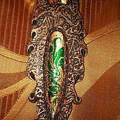Подарки к праздникам ручной работы. Ярмарка Мастеров - ручная работа кулон собака в готическом стиле. Handmade.
