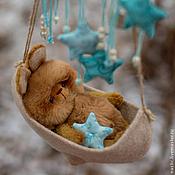 Куклы и игрушки ручной работы. Ярмарка Мастеров - ручная работа спи, мой зайчик.... Handmade.
