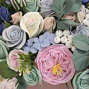 Цветы и флористика handmade. Livemaster - original item Flower box. Flowers polymer clay handmade. Handmade.