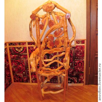 Мебель ручной работы. Ярмарка Мастеров - ручная работа. Купить Кресло. Handmade. Желтый, Авторский дизайн, мебель ручной работы