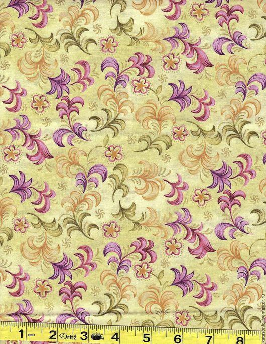 Шитье ручной работы. Ярмарка Мастеров - ручная работа. Купить 1266 Американская ткань. Handmade. Комбинированный, ткань с рисунком, ткань