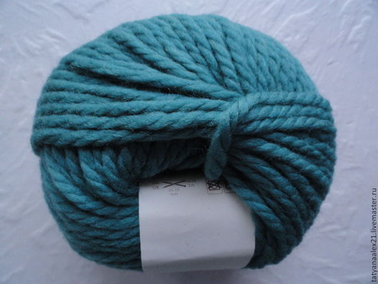 Вязание ручной работы. Ярмарка Мастеров - ручная работа. Купить Пряжа Rowan Big Wool № 054 Vert. Handmade.