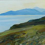 Картины и панно handmade. Livemaster - original item Picture. Crimea. Cape Ilya, view to the Twoanchor Bay. Handmade.