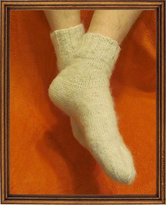 Носки, Чулки ручной работы. Ярмарка Мастеров - ручная работа. Купить Носочки  для настоящих мужчин. Handmade. Пуховые, шерсть
