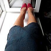"""Одежда ручной работы. Ярмарка Мастеров - ручная работа Юбка валяная """"Горный ручей"""". Handmade."""