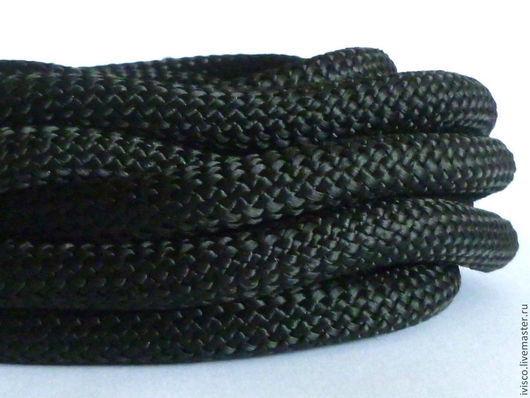 Для украшений ручной работы. Ярмарка Мастеров - ручная работа. Купить Плетеный текстильный шнур 10мм. Handmade. Толстый шнур