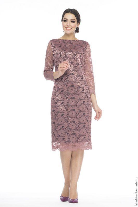 Платья ручной работы. Ярмарка Мастеров - ручная работа. Купить Платье 1618Q-кремовый. Handmade. Кремовый, Платье на Новый год, кружево