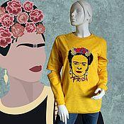 Одежда handmade. Livemaster - original item Sweatshirt with embroidery