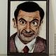 Люди, ручной работы. Портрет Рована Аткинсона или Шерстяной мистер Бин. Диана Грант (zumzum-latvija). Интернет-магазин Ярмарка Мастеров.