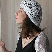 Одежда ручной работы. Ярмарка Мастеров - ручная работа Шраг -накидка и берет. Handmade.