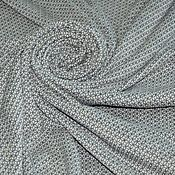 Ткани ручной работы. Ярмарка Мастеров - ручная работа Трикотажное вязаное полотно, Италия. Handmade.