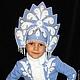 """Карнавальные костюмы ручной работы. Ярмарка Мастеров - ручная работа. Купить """"Красивая Снегурочка!. Handmade. Голубой, детская одежда, для елки"""