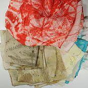 Материалы для творчества ручной работы. Ярмарка Мастеров - ручная работа Набор шелка Ассорти. Handmade.