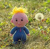 Куклы и игрушки ручной работы. Ярмарка Мастеров - ручная работа Новорожденный мальчик вязаный. Handmade.