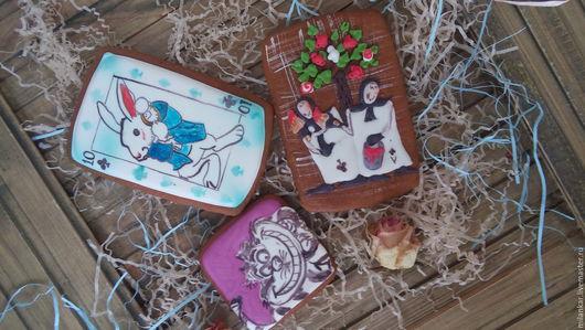 Имбирные пряники `Алиса в стране чудес`. Мастерская `Прянички для любименьких` Ольги Рыжовой