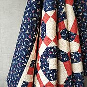 Для дома и интерьера handmade. Livemaster - original item Patchwork quilt gift to the teacher. Handmade.