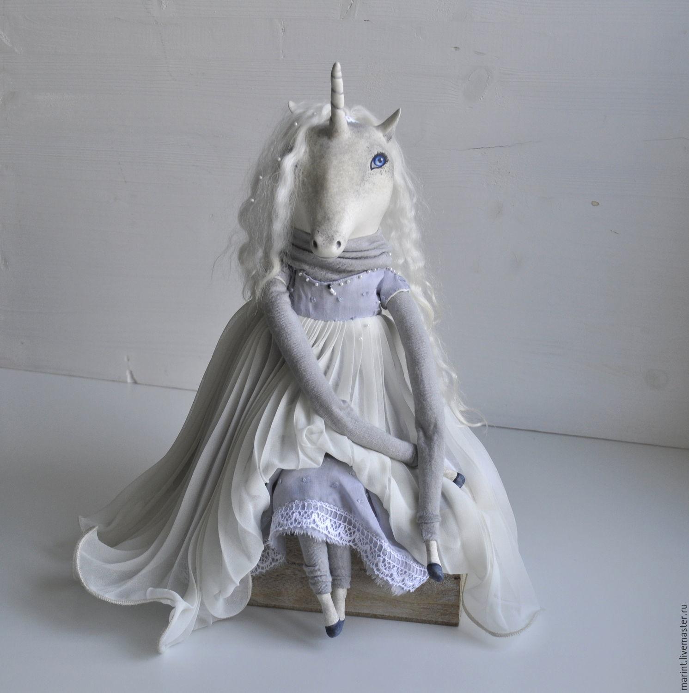 Интерьерная кукла единорог Арвен, Куклы, Дубна, Фото №1