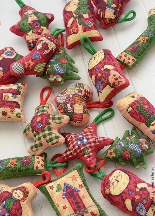 Шитье ручной работы. Ярмарка Мастеров - ручная работа. Купить Заготовки для новогодних текстильных игрушек. Handmade. Текстильная заготовка, ангел