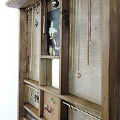 Для дома и интерьера ручной работы. Ярмарка Мастеров - ручная работа Свет мой, зеркальце... - органайзер-витрина для украшений. Handmade.